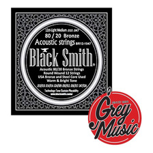 Encordado Black Smith Guitarra Acústica 010-047 80/20 Bronze