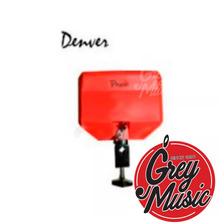 Percusión Lpb2 Jam Block Denver Rojo Plástico Grave