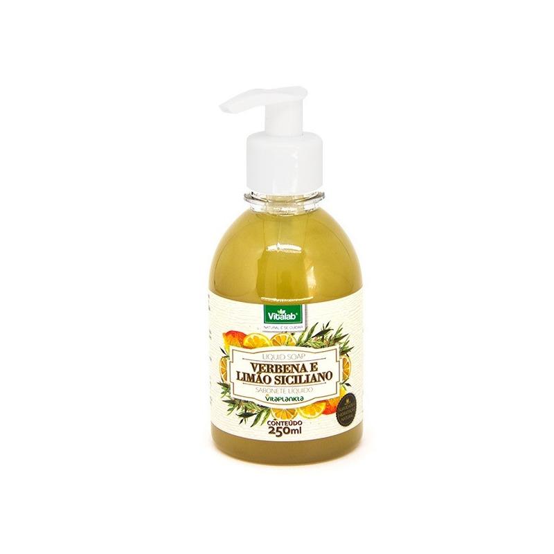 Sabonete Líquido de Verbena e Limão Siciliano 250ml Vitalab