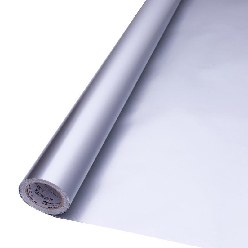 Vinil adesivo Goldmax prata larg. 1,22 m
