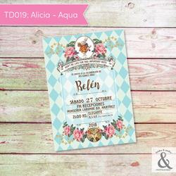 Invitación digital TD019 (Alic...