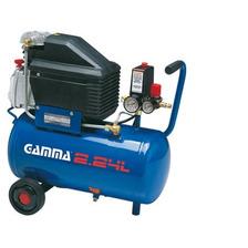 Compresor De Aire Gamma 24 L 2hp Portatil G2801 Alta Recup