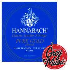Encordado Hannabach Pure Gold 825 Ht Guitarra Clàsica -nylon