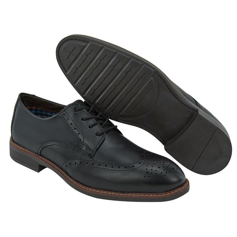 Zapato De Vestir Negro Con Agujetas 017579