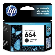 Cartucho Hp 664 Original Negro Para Hp 3775 3785 4535 4675