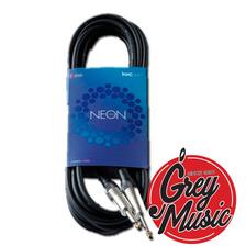 Cable Kwc 103 Neon 6 Mm. Plug 1/4 - Plug 1/4 Standard X 6 Mt