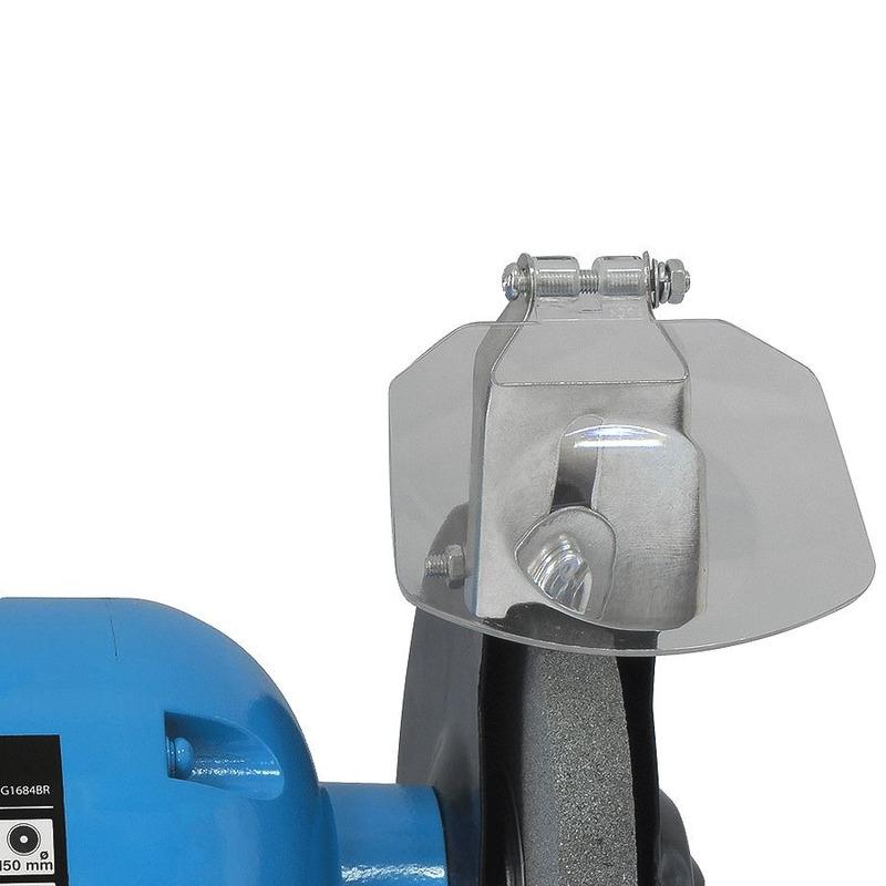 """Moto Esmeril de Bancada 6"""" (150mm) 350W - G1684BR - Gamma Ferramentas - Bivolt"""