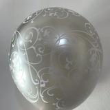 globo filigrana plara desinflado apto helio