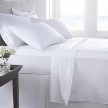Sabanas Queen 160 X 200 Algodón Percal Hotelera 180 Hilos