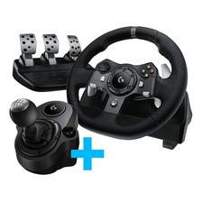 Volante Logitech G920 + Pedalera + Palanca Pc Xbox One Gtia