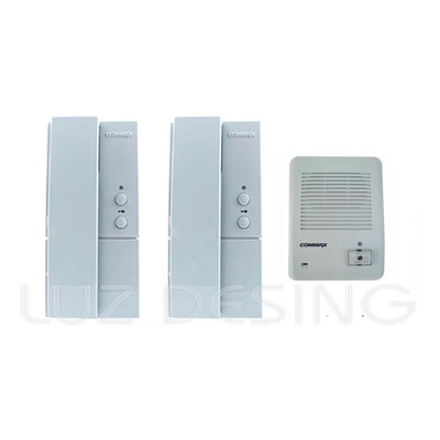 Kit Portero Electrico Commax Dp101 La  Con 2 Telefonos Apl