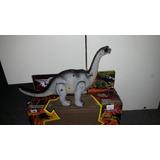 Dinosaurio con movimiento, luz y sonido 20 cm