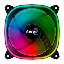 Cooler Gabinete Aerocool Astro 12 120mm Argb Fan Dual Ring