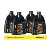 Fluido Bizol ATF Autos Asiaticos Kit 4P de 1 Lt