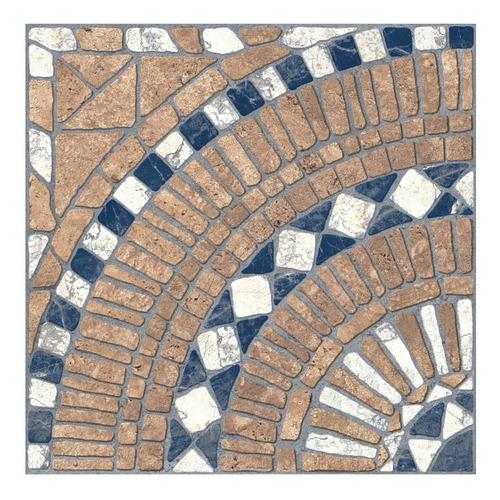 Ceramico 40x40 Trentino Terra Hd 1era Piso Patio