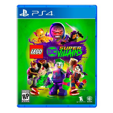 Lego Dc Super Villains Ps4 Fisico Sellado Nuevo Original