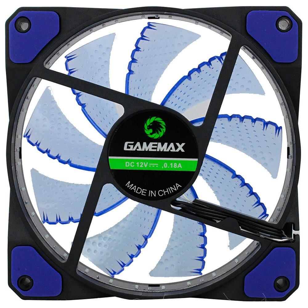 Cooler Gabinete 120 Mm Gamemax Gamer Galeforce Verde