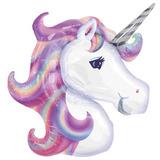 globo unicornio colores pasteles 60cm desinflado apto helio