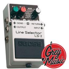 Pedal Boss Ls2 Line Selector Grey Music