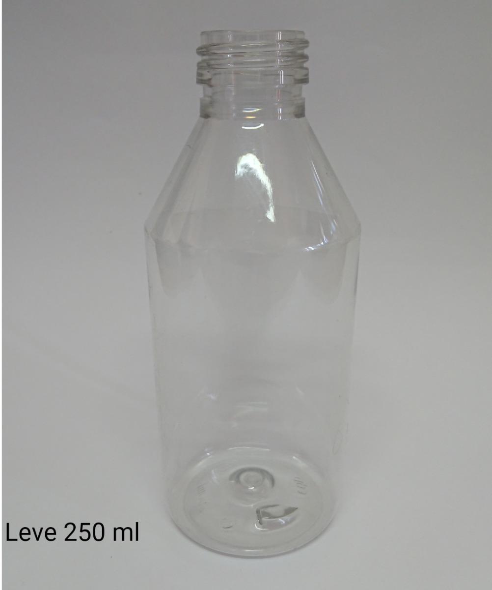 Envases Plásticos Pet 250 Ml Cristal C/tapa (100 Unidades)