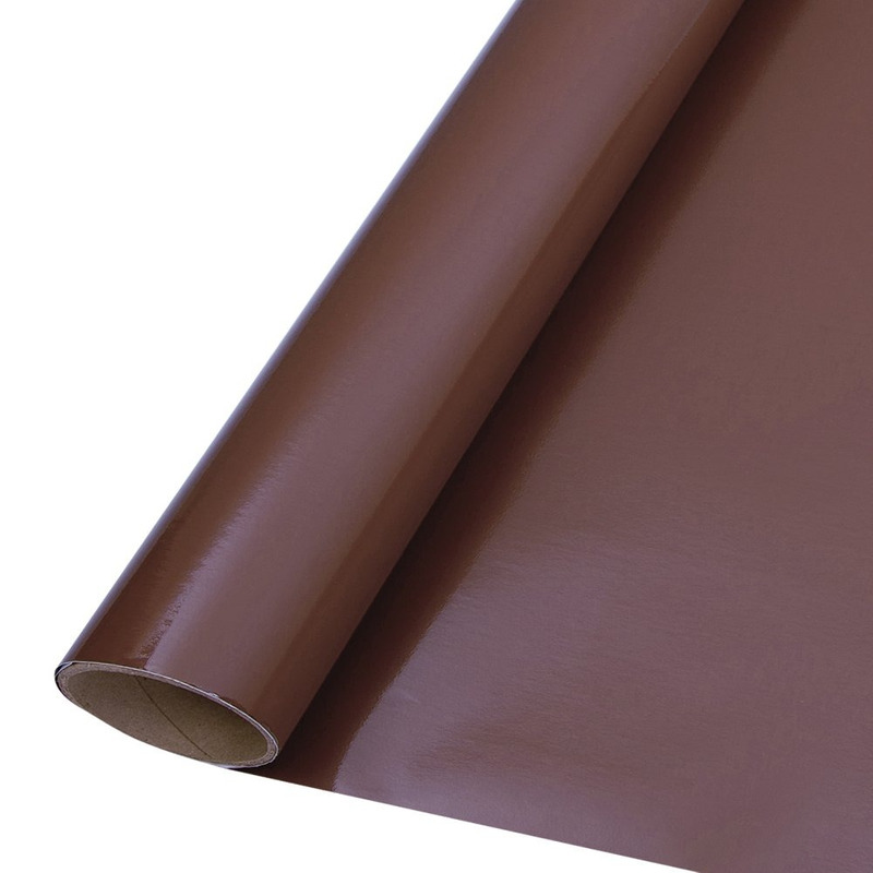 Vinil adesivo colormax marrom larg. 1,0 m