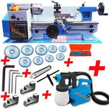 Torno Paralelo Metales 300mm Kld + Equipo Pintar 500w Regalo