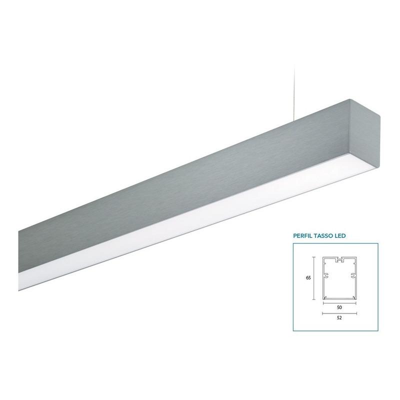 Colgante Tasso Led Lineal 19w 85cm Altura Regulable Lucciola