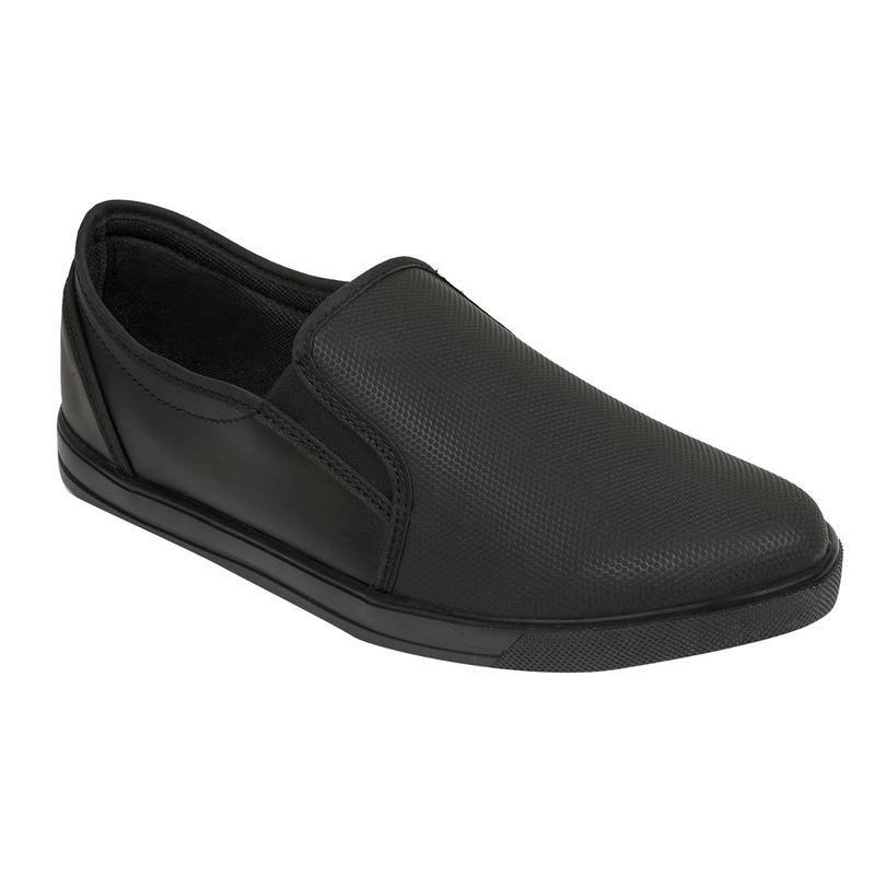 Zapato vestir negro punta ovalada  018821