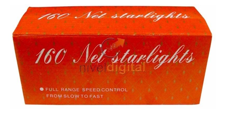 160 Luces Forma De Red Intermitencia Regulable Árbol Navidad