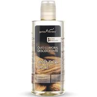 Oleo Corporal Desodorante Amendoa Doce - 200ml Gotas Verdes