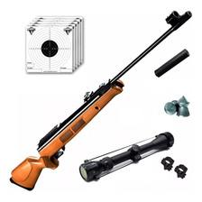 Rifle Aire Comprimido Fox Gr1600 X-nitro Piston + Mira Zoom