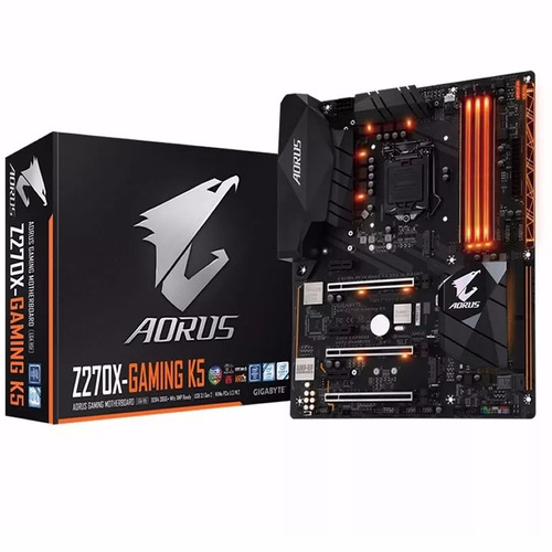 Mother Gigabyte Z270x Gaming K5 Intel Z270 1151 7700k 7700