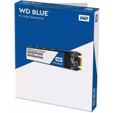 Disco Solido 250gb Wd Western Digital Blue M2 2280 Sata3 Ssd