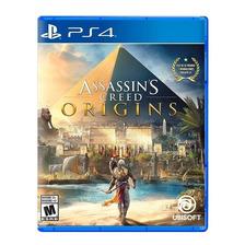 Assassins Creed Origins Ps4 Fisico Sellado Nuevo Original