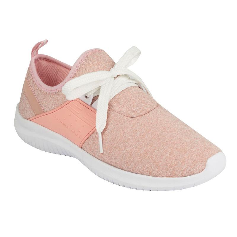 Deportivos rosas con moño  015766