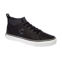 Sneakers Charly negros con rayas C49130