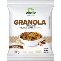Granola Sem Gluten - Quinoa com Castanhas - 200g - Vitalin