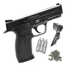 Pistola Co2 Aire Comprimido Norica Balines M&p 40 Full Metal