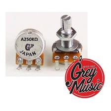 Potenciometro Mini Logarítmico (a)  Gotoh A250k Mini Pot2501