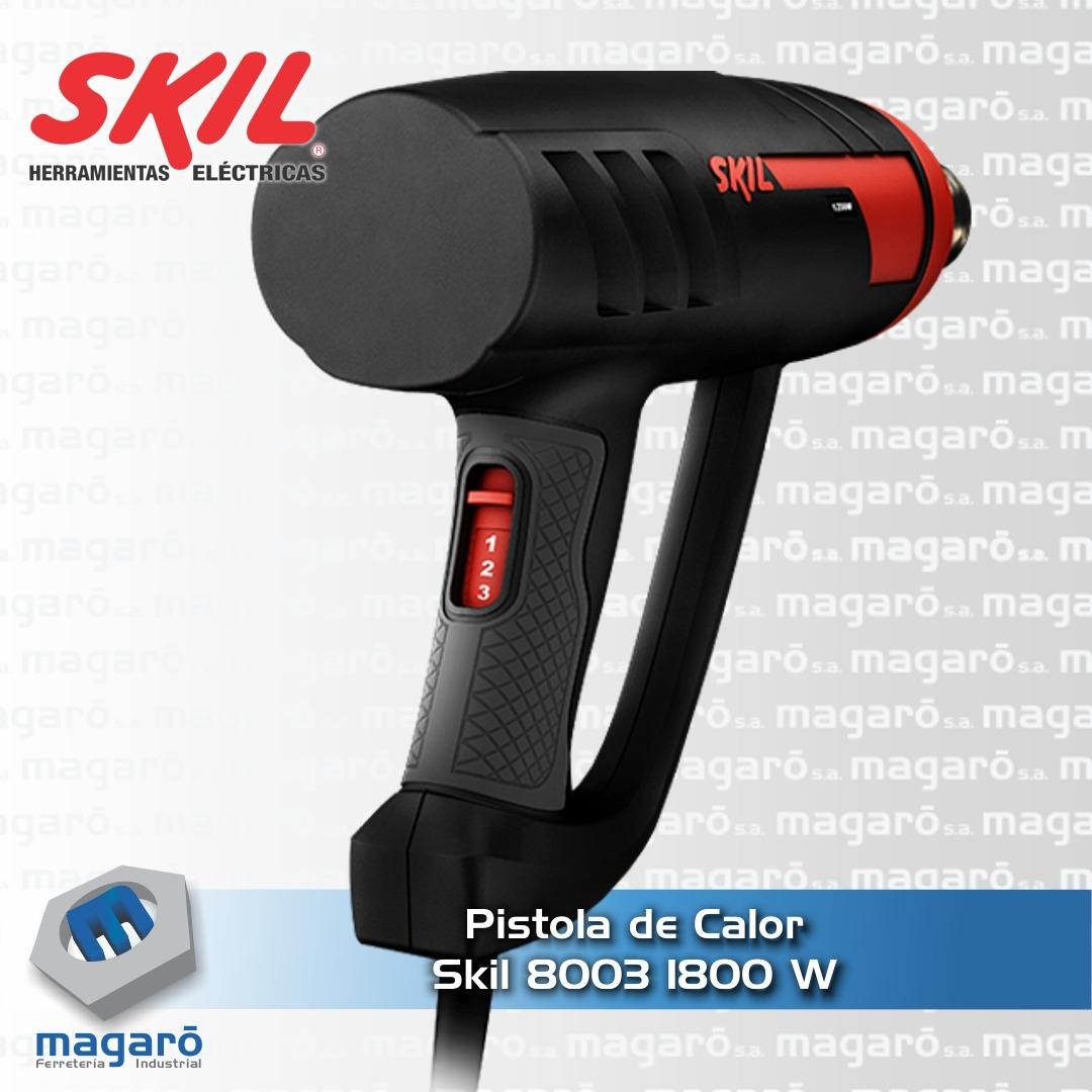 Pistola De Calor Skil 8003 1800w + 4 Boquillas + Malet&ia...