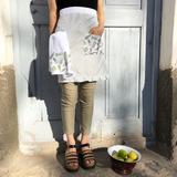 Delantal falda Cactus