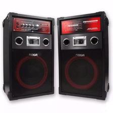 Parlante Karaoke Mix Noga 120w Bluetooth Sd Usb Fm
