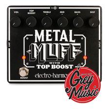 Pedal Electro Harmonix 140276 Metal Muff With Top Boost