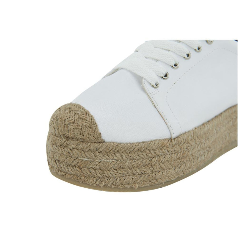 Sneakers Blanco Con Yute 020958