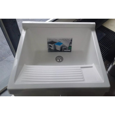 Pileta bacha de lavadero con fregadero p colgar ferrum for Fregadero para lavadero
