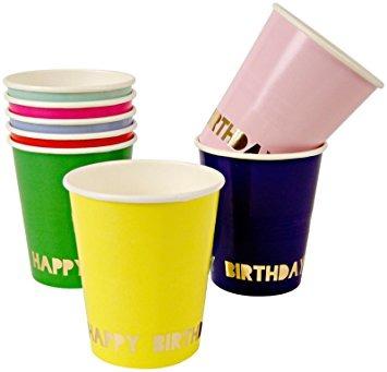 Vasos Happy Birthday