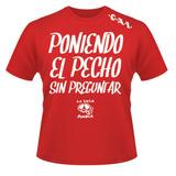 """Rock and Rojo """"Poniendo el pecho"""""""