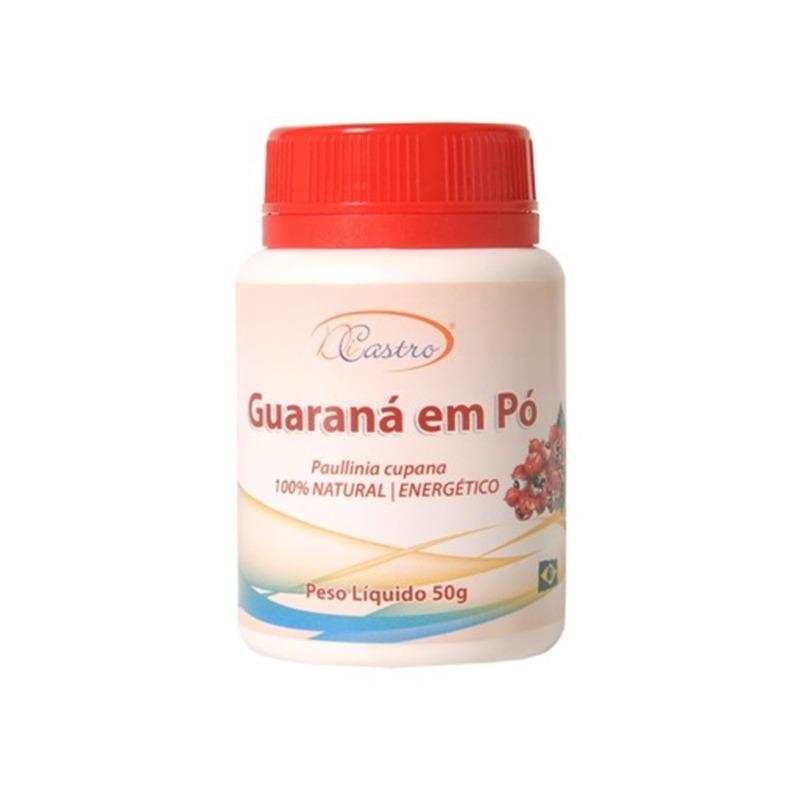 Guarana em Po - Pote 50g - DiCastro