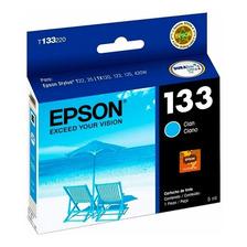 Cartucho Epson 133 Cian Original P/ Tx125 Tx135 Tx430w