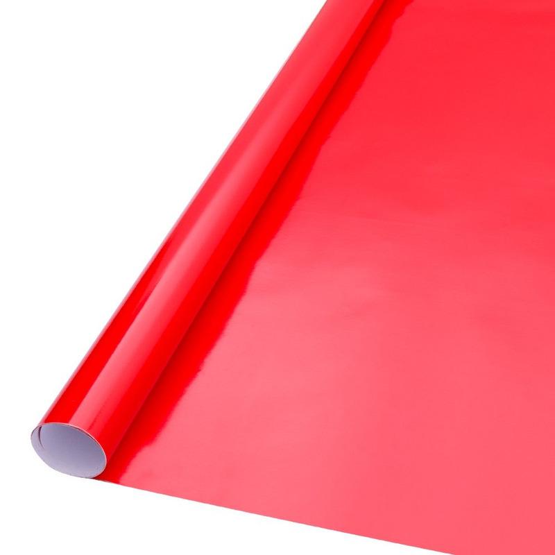 Vinil adesivo Goldmax vermelho intenso larg. 1,22 m
